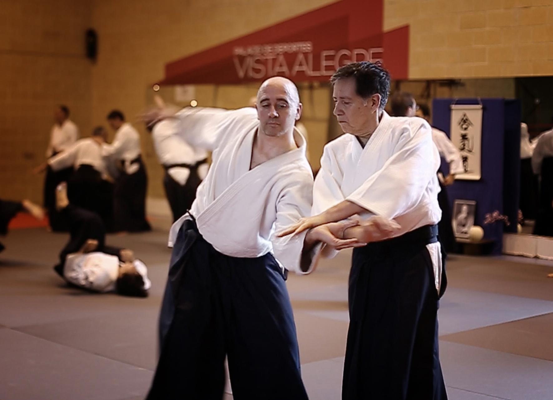 Maestros de Aikido, Hector Flores Sensei en Córdoba