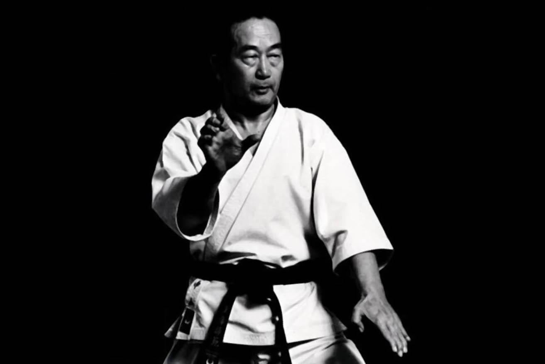Maestro Nakayama karate tradicional Irimi Madrid